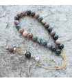 Indian agate komboloi beads,simple bead finish, code 102