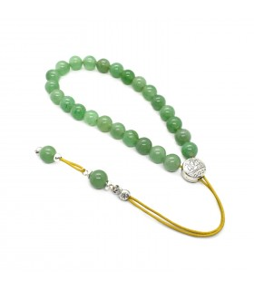 Green aventurine worry beads efhantro, code 297