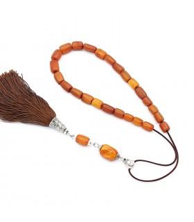 Kahraman amber worry beads - efhantro,  code 300