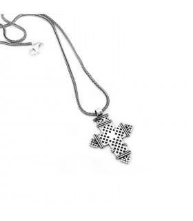 Sterling silver Cross pendant, code M_198