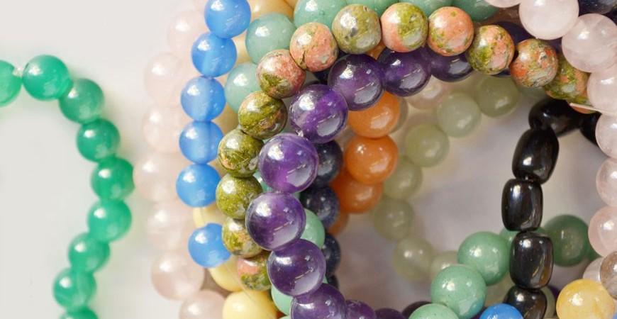 Semi precious stones and humans